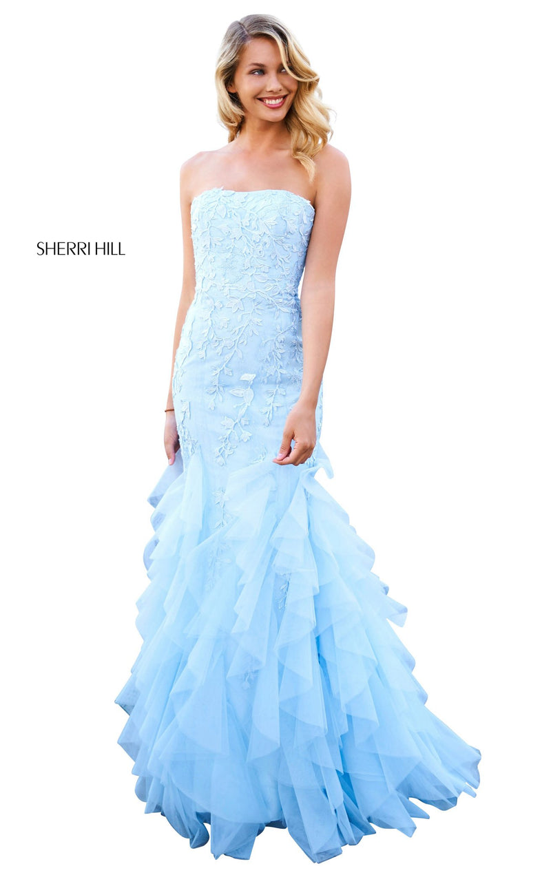 Sherri Hill 53346 Dress Light-Blue
