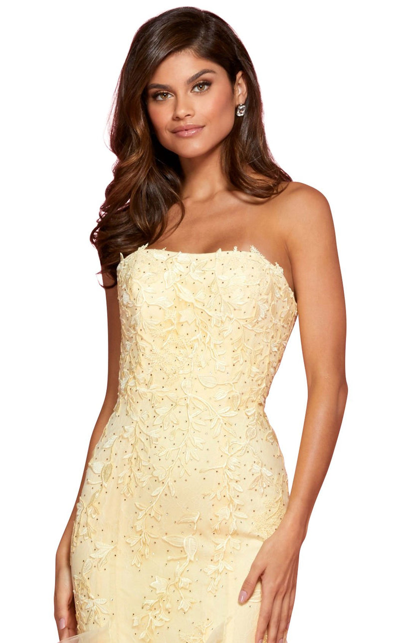Sherri Hill 53346 Dress Yellow