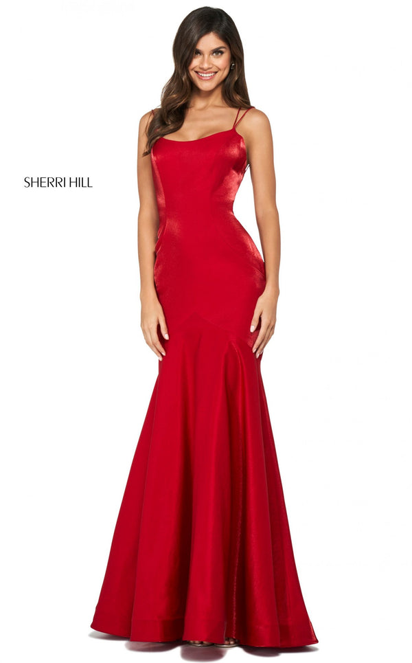 Sherri Hill 53351 Dress Red