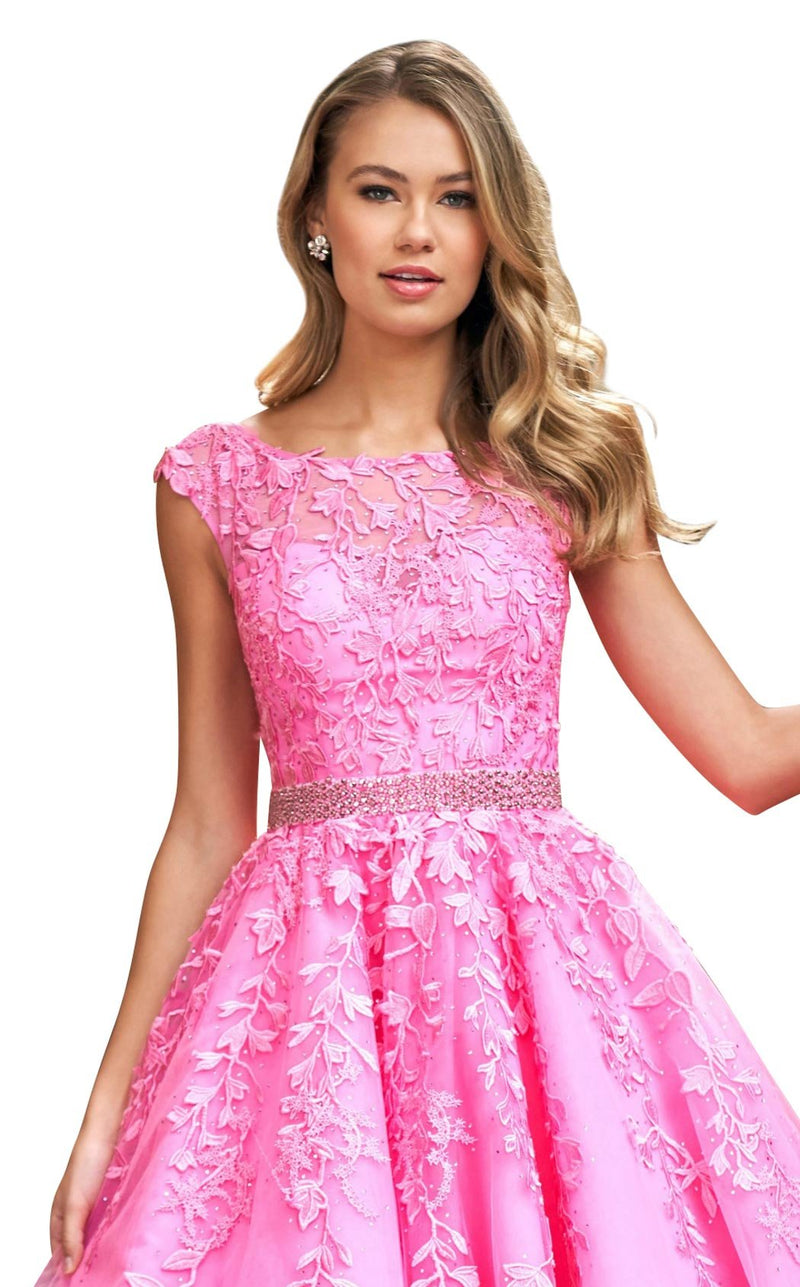 Sherri Hill 53356 Dress Bright-Pink