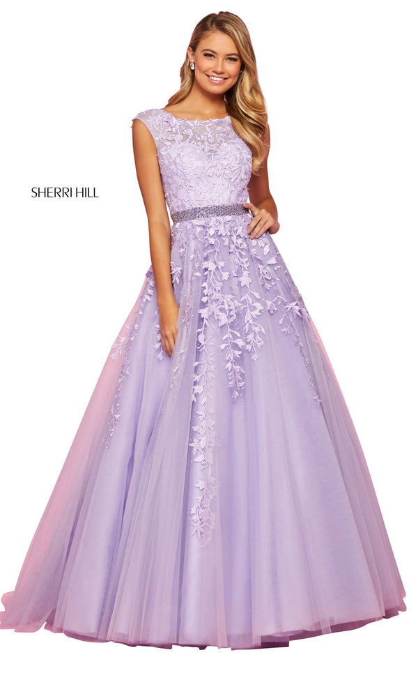 Sherri Hill 53356 Dress Lilac