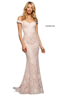 Sherri Hill 53357 Dress Blush