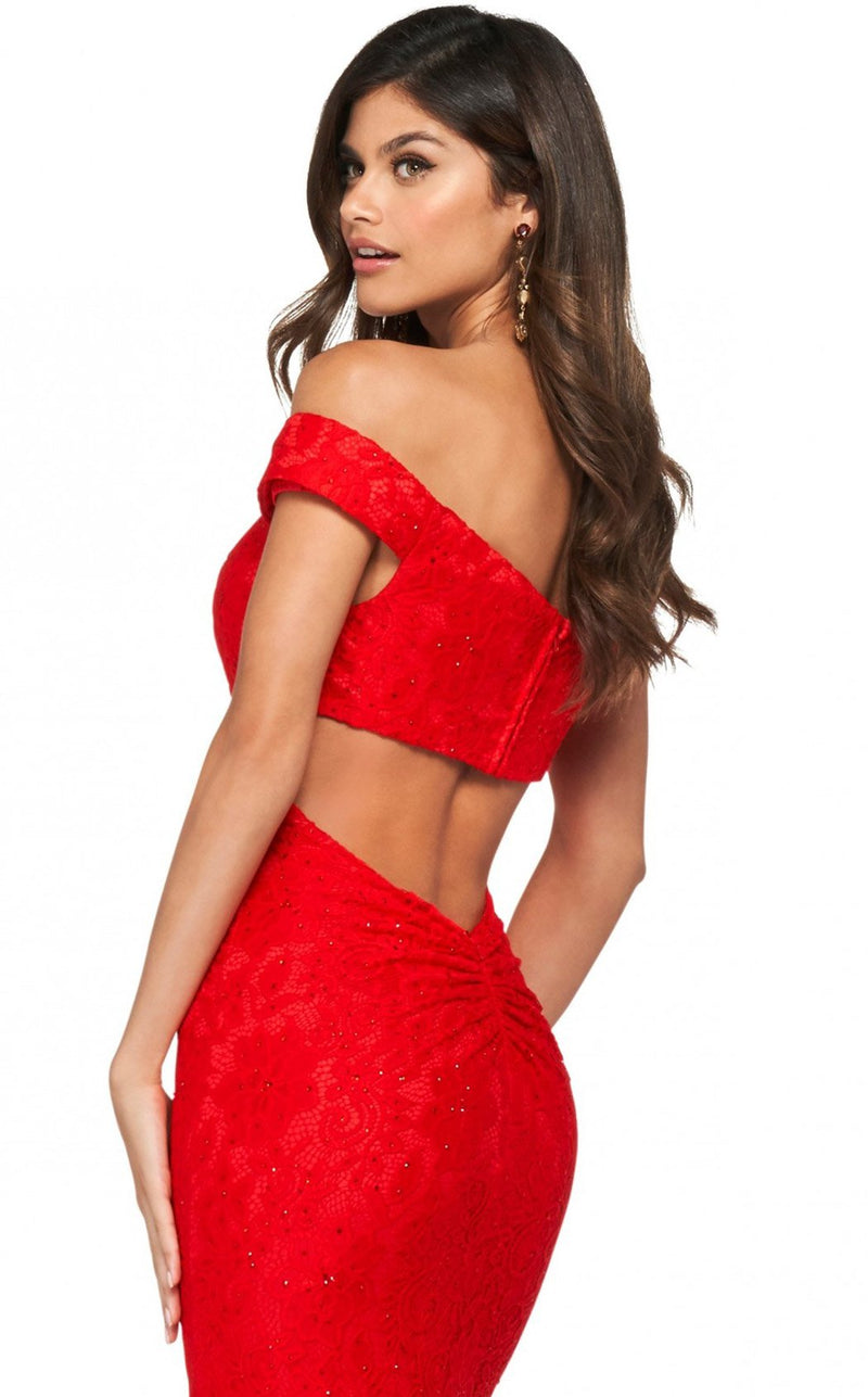 Sherri Hill 53357 Dress Red