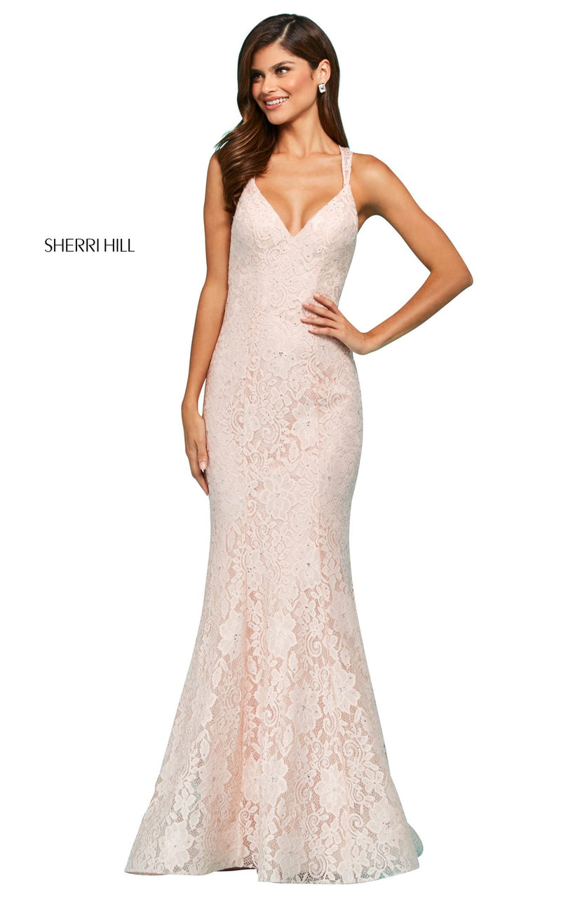 Sherri Hill 53363 Dress Ivory