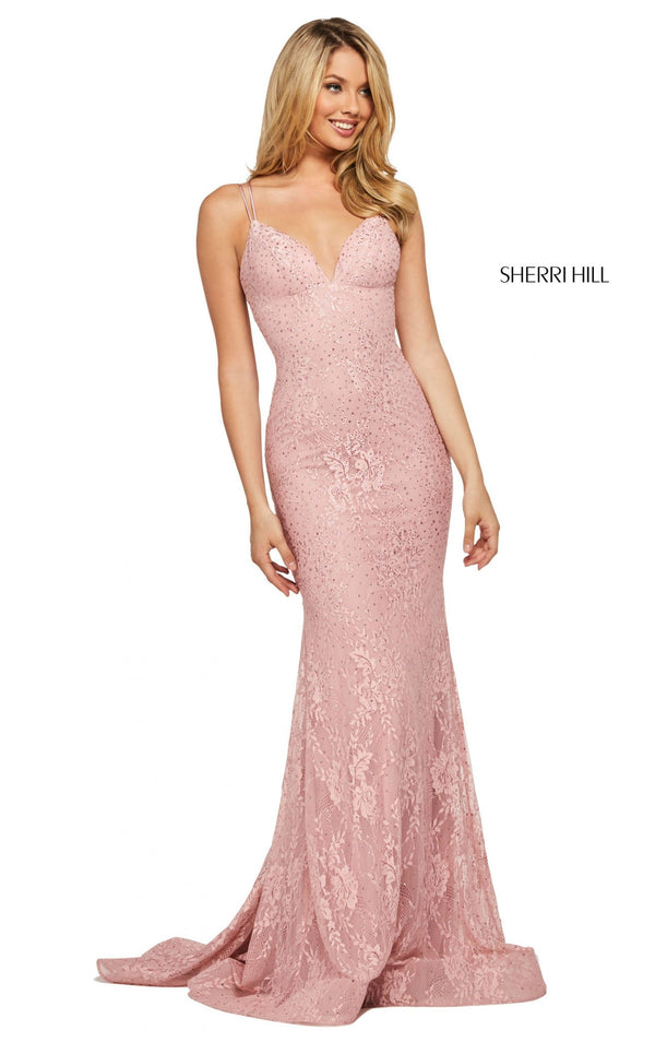 Sherri Hill 53364 Dress Pink