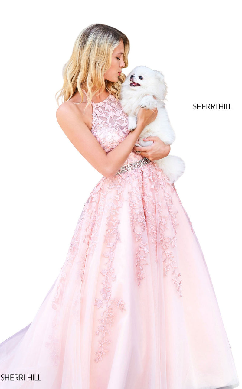 Sherri Hill 53371 Dress Blush