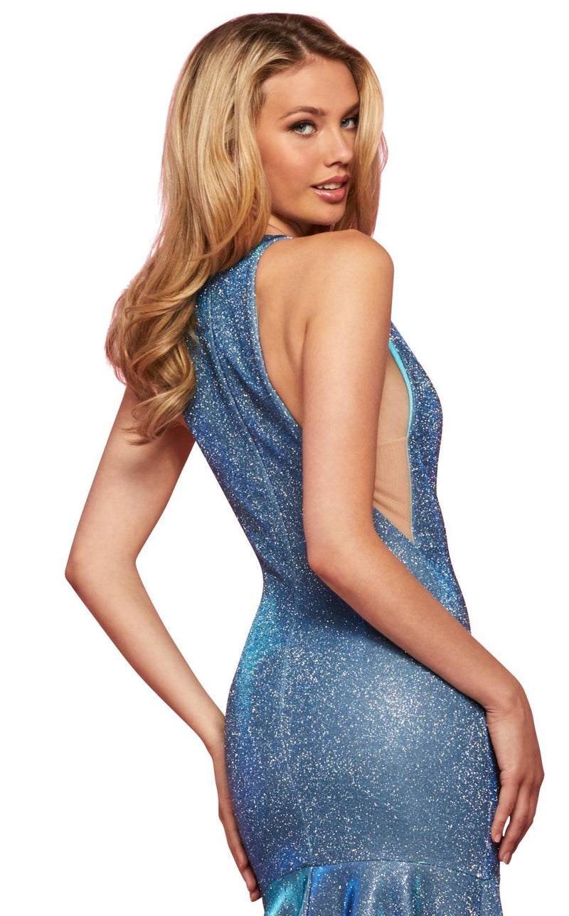 Sherri Hill 53372 Dress Electric-Blue