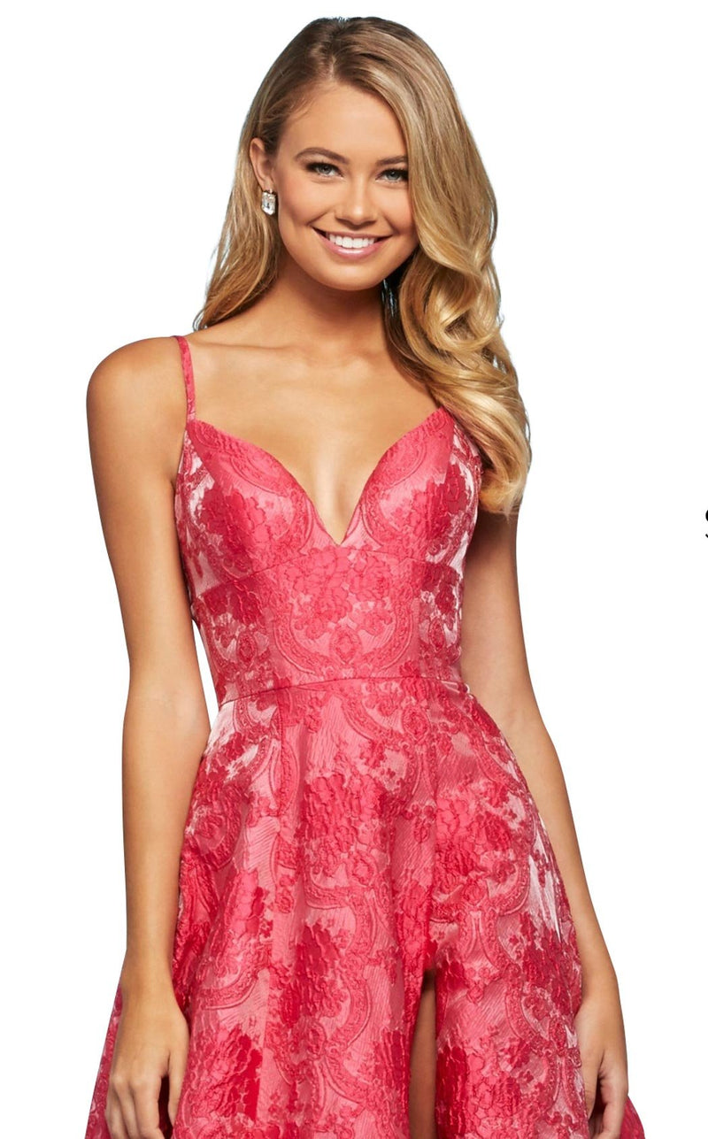 Sherri Hill 53378 Dress Fuchsia