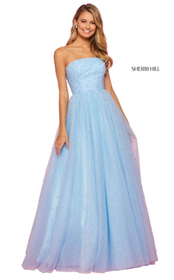 Sherri Hill 53381 Dress Light-Blue