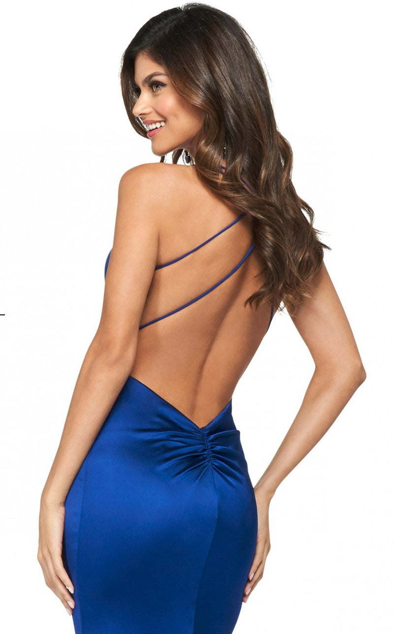 Sherri Hill 53390 Dress Navy
