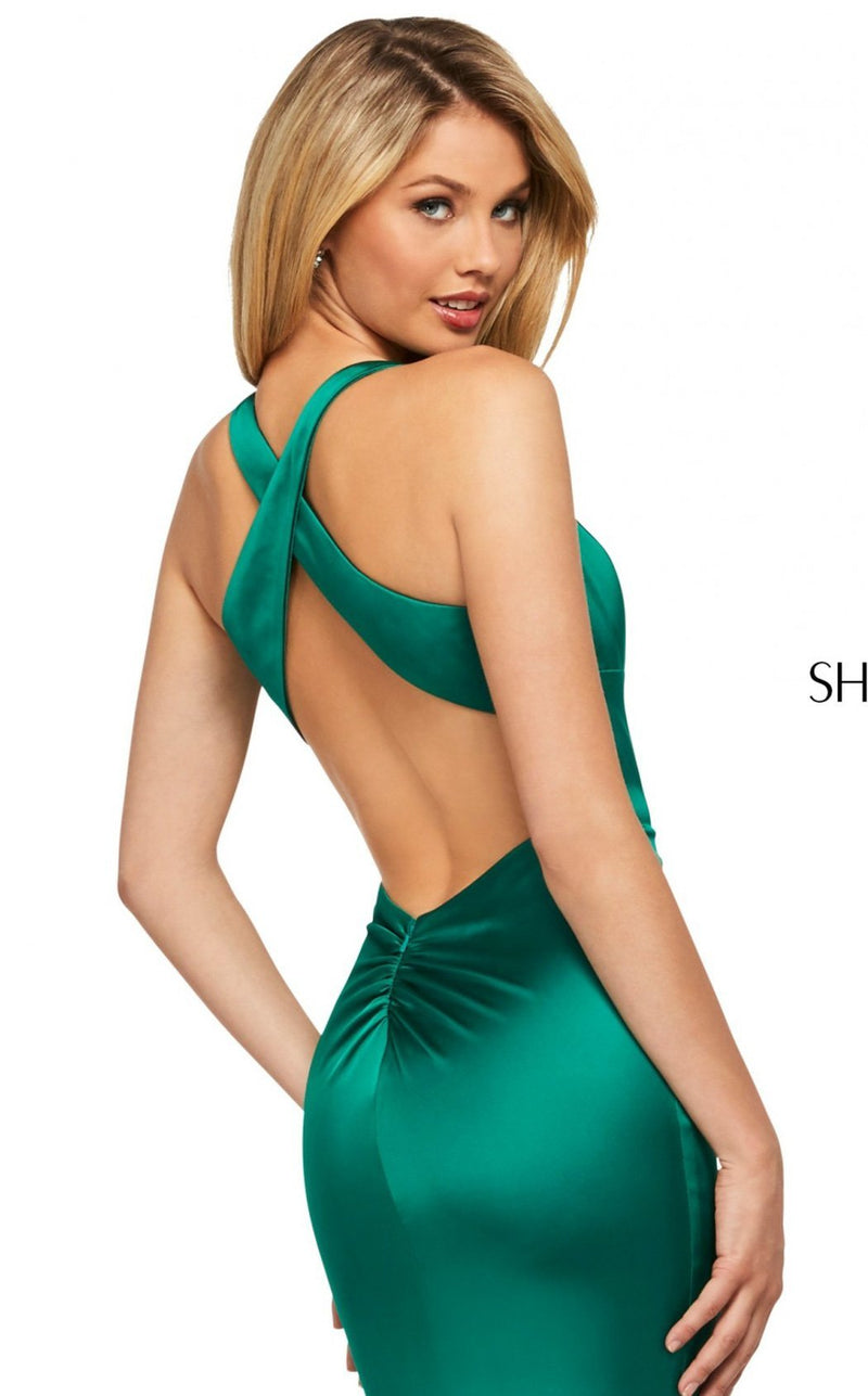 Sherri Hill 53392 Dress Emerald