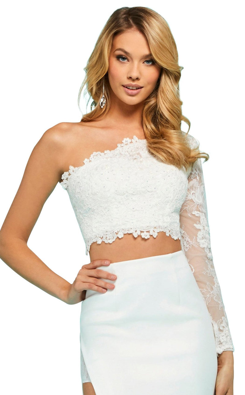 Sherri Hill 53404 Dress Ivory