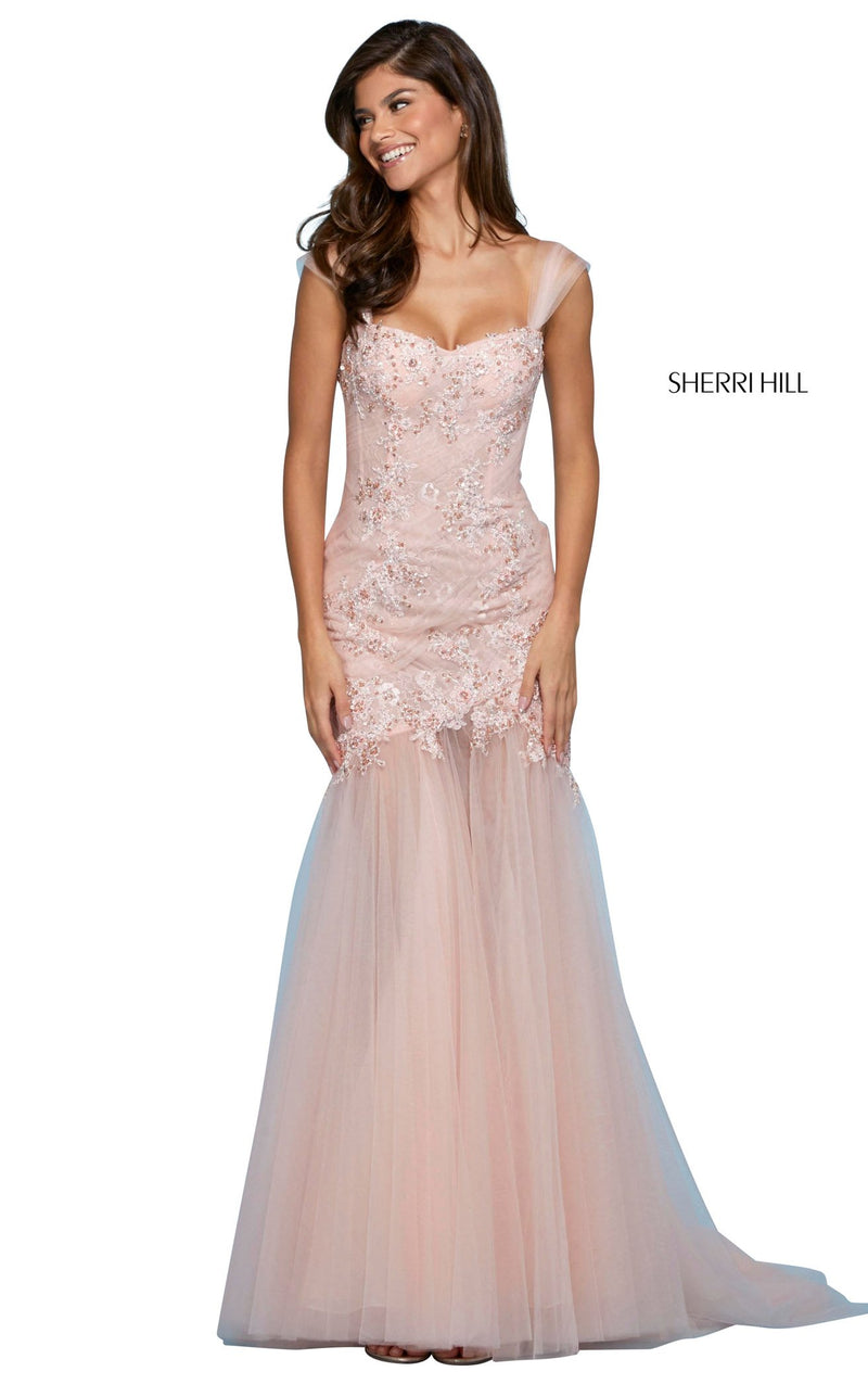 Sherri Hill 53415 Dress Blush