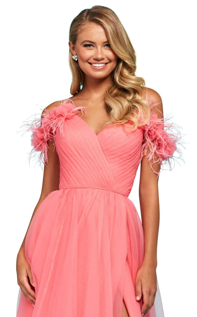 Sherri Hill 53417 Dress Coral