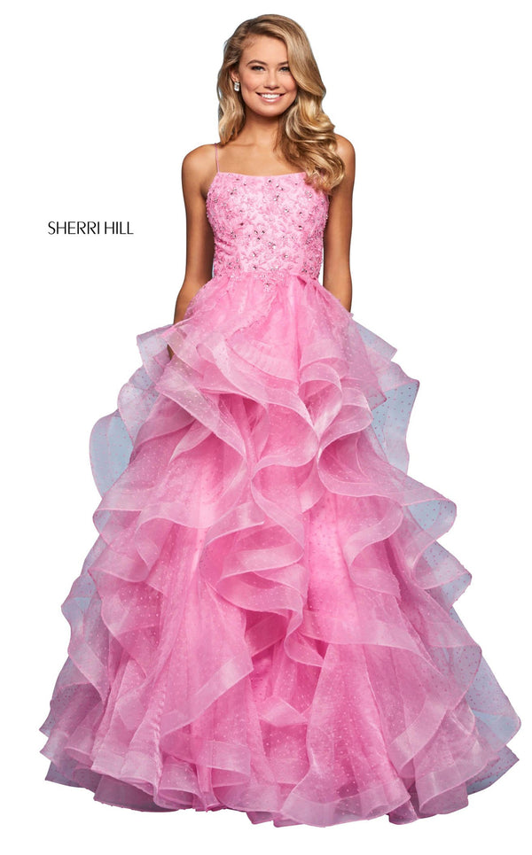 Sherri Hill 53418 Dress Candy-Pink