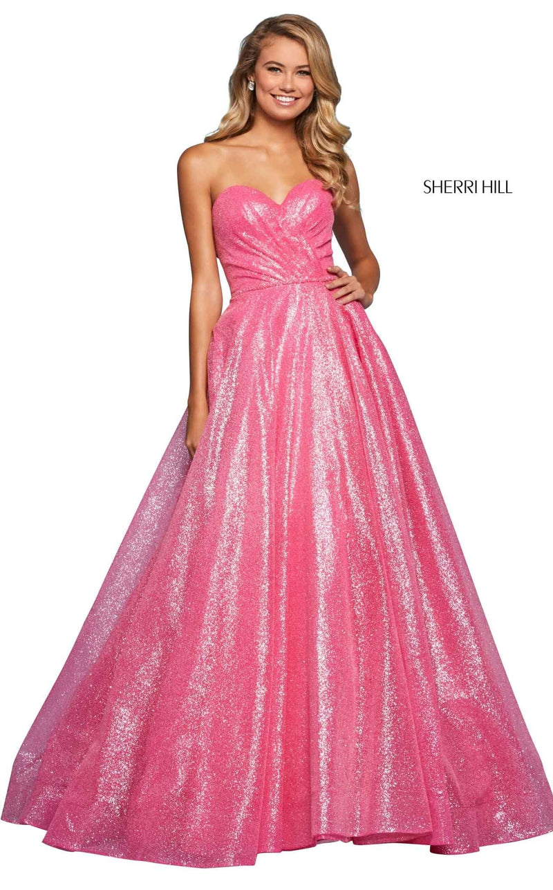 Sherri Hill 53419 Dress Candy-Pink
