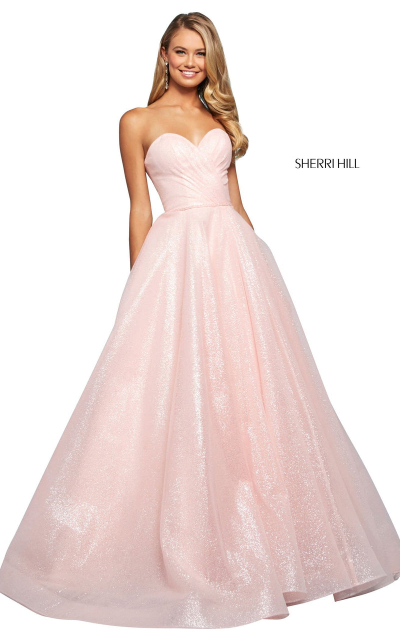 Sherri Hill 53419 Dress Light-Pink