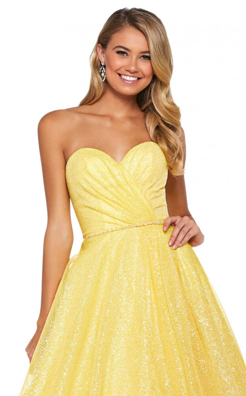 Sherri Hill 53419 Dress Yellow