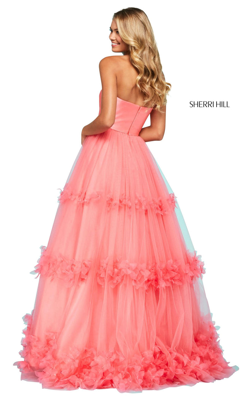 Sherri Hill 53420 Dress Coral