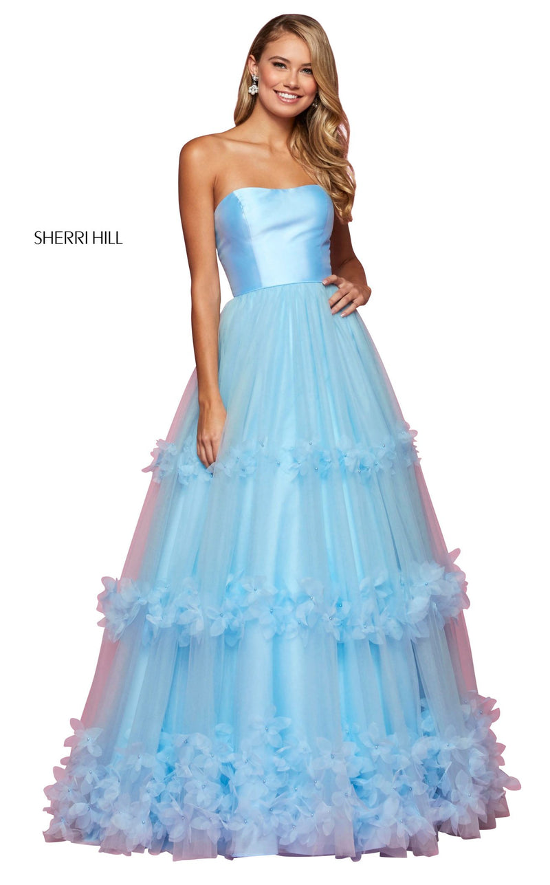 Sherri Hill 53420 Dress Light-Blue