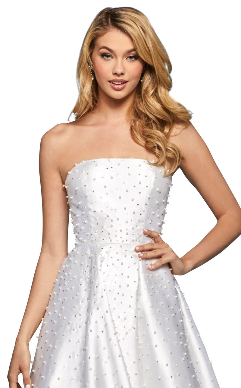 Sherri Hill 53421 Dress Ivory