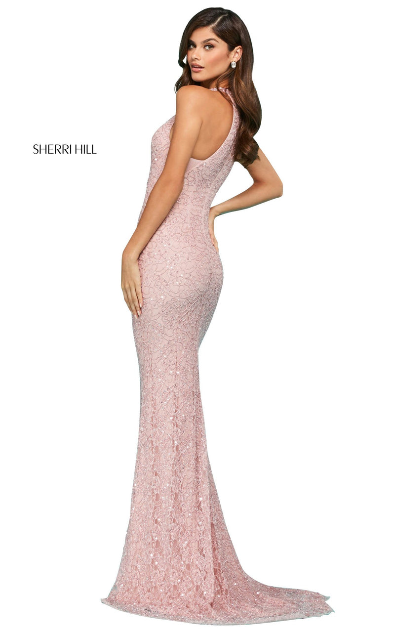 Sherri Hill 53442 Dress Light-Pink