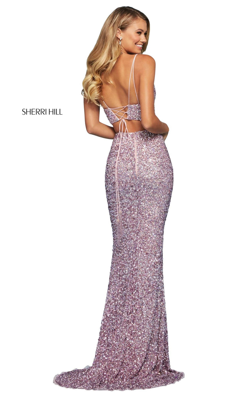 Sherri Hill 53448 Dress Pink