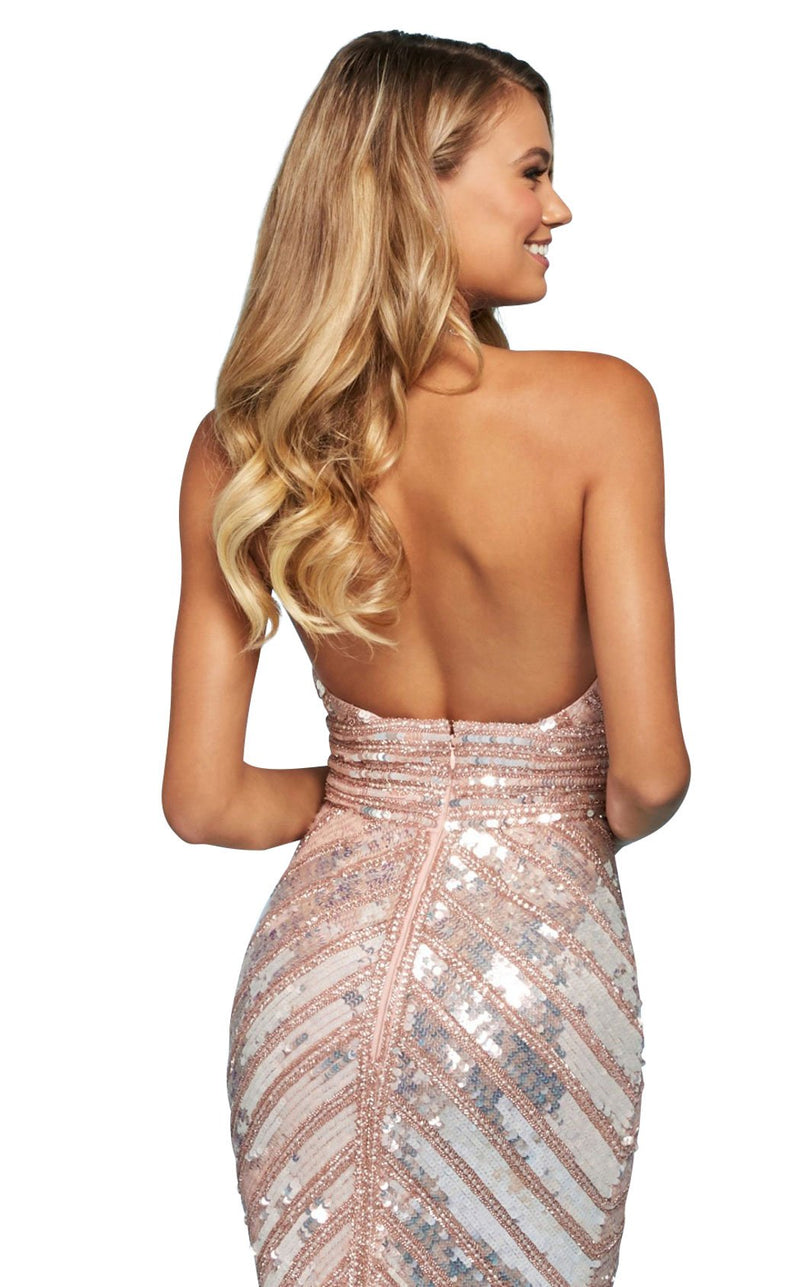 Sherri Hill 53455 Dress Blush