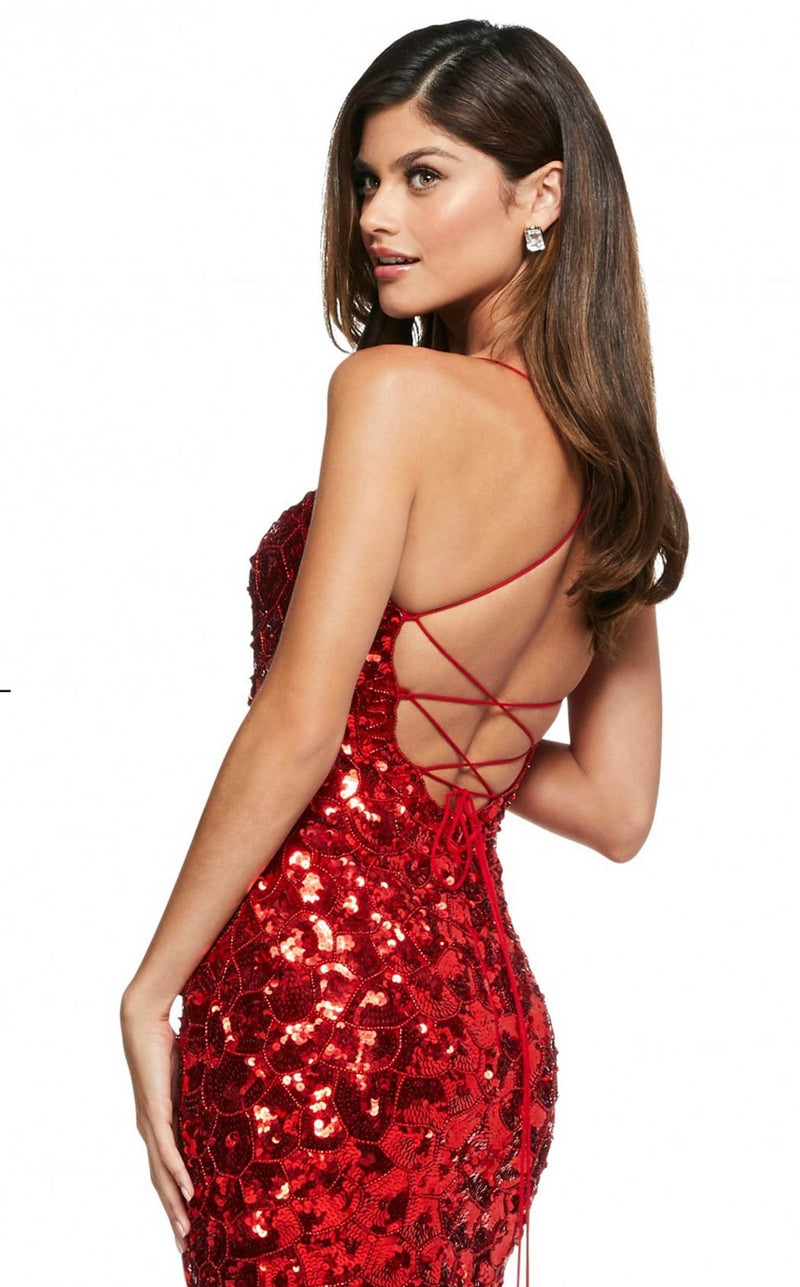 Sherri Hill 53456 Dress Red