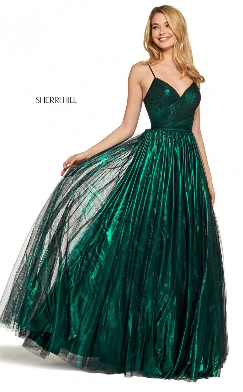 Sherri Hill 53480 Dress Emerald