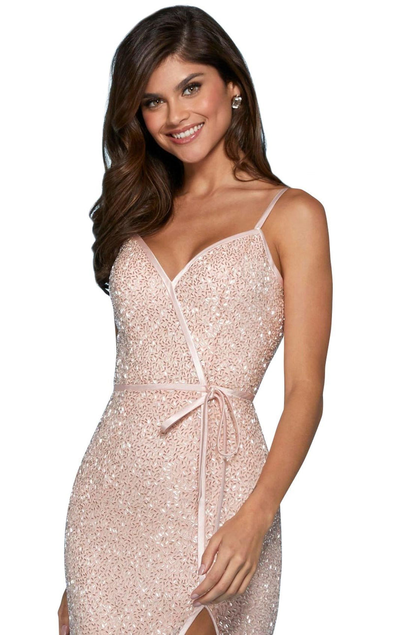 Sherri Hill 53493 Dress Blush