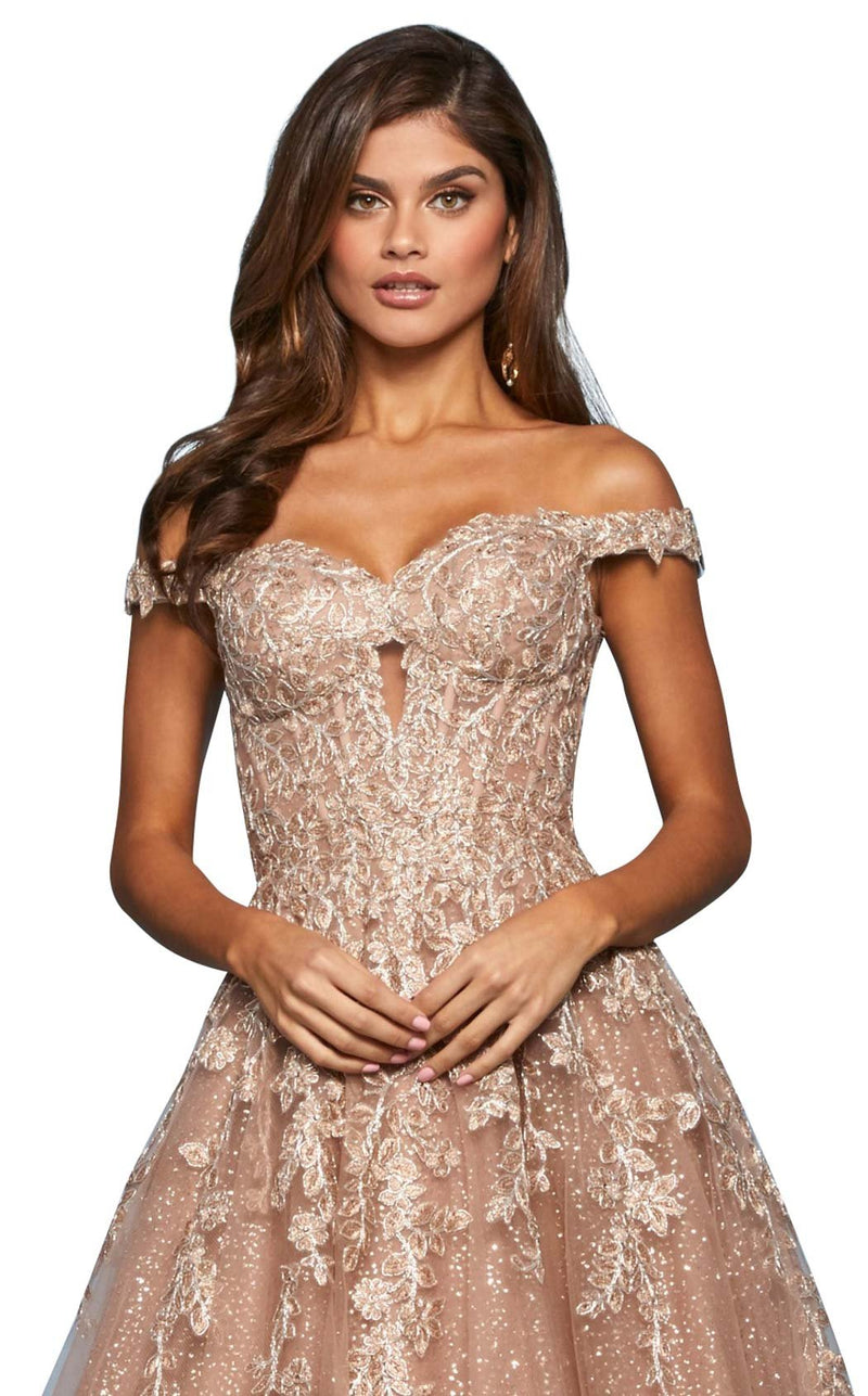 Sherri Hill 53509 Dress Rose-Gold