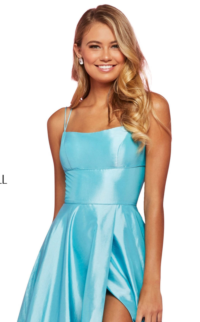 Sherri Hill 53531 Dress Aqua