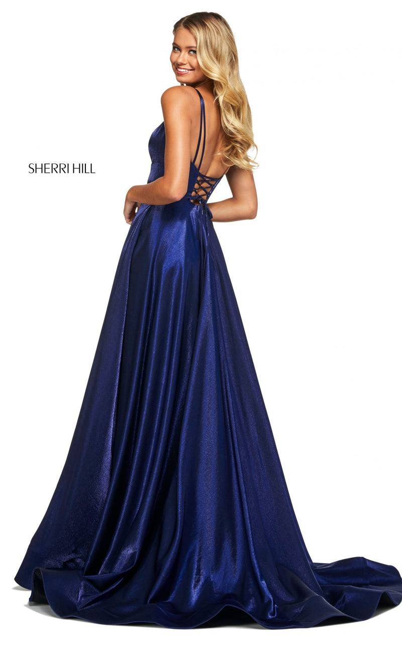 Sherri Hill 53548 Dress Royal