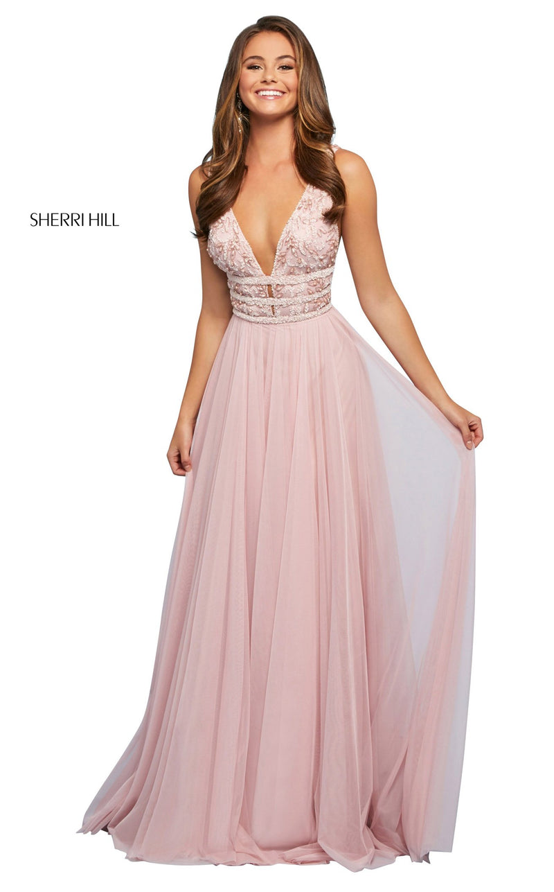 Sherri Hill 53551 Dress Light-Pink