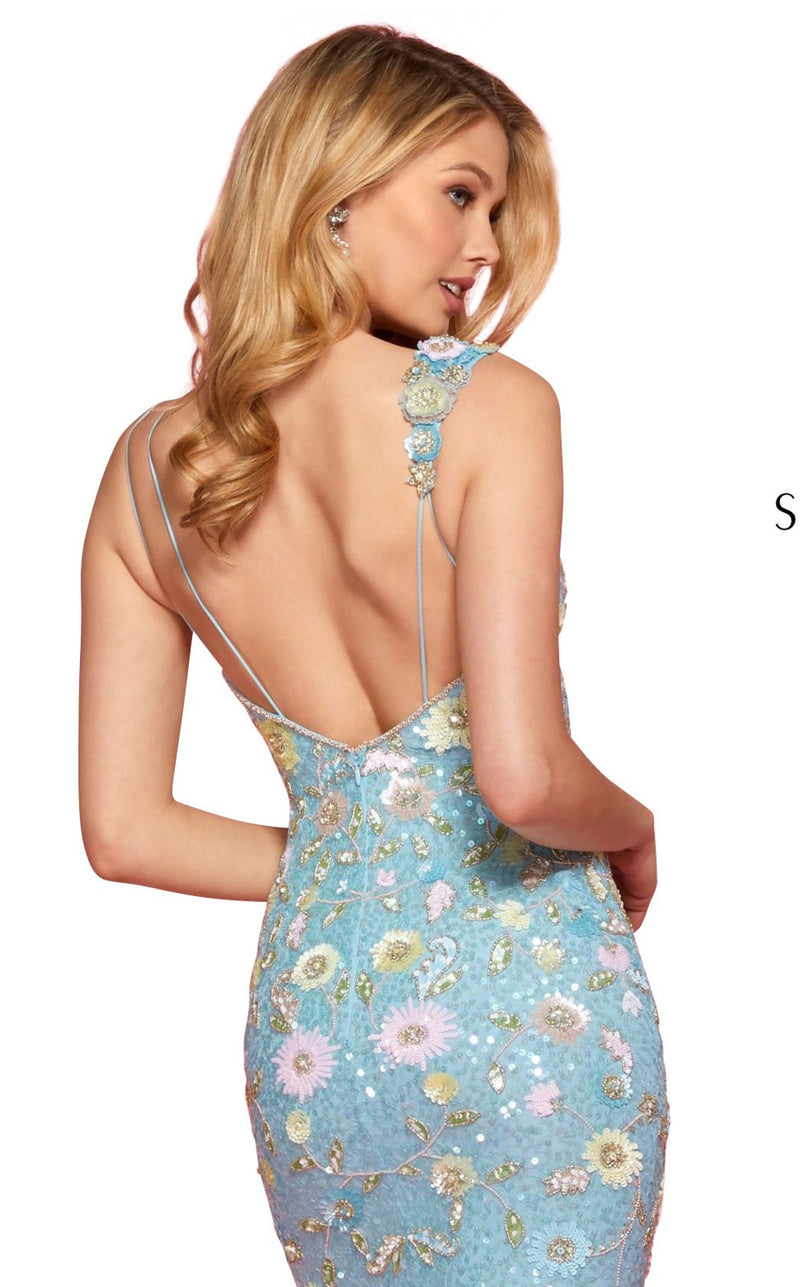 Sherri Hill 53558 Dress Light-Blue-Multi