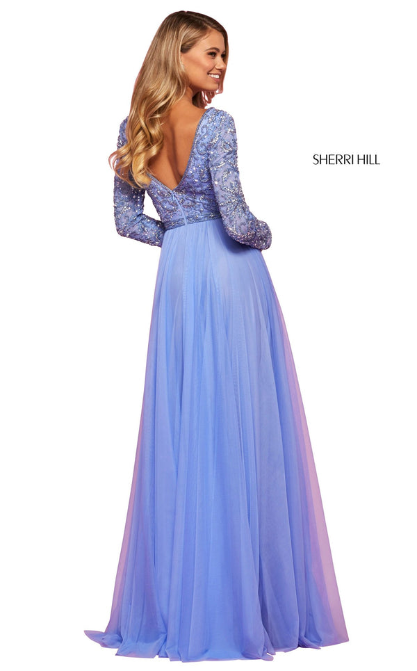Sherri Hill 53560 Dress Periwinkle
