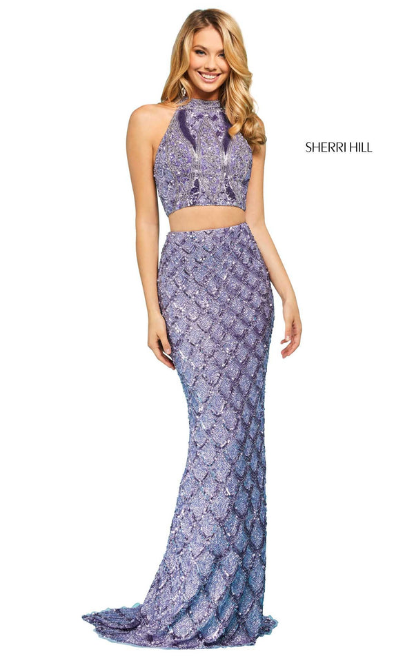 Sherri Hill 53562 Dress Lilac