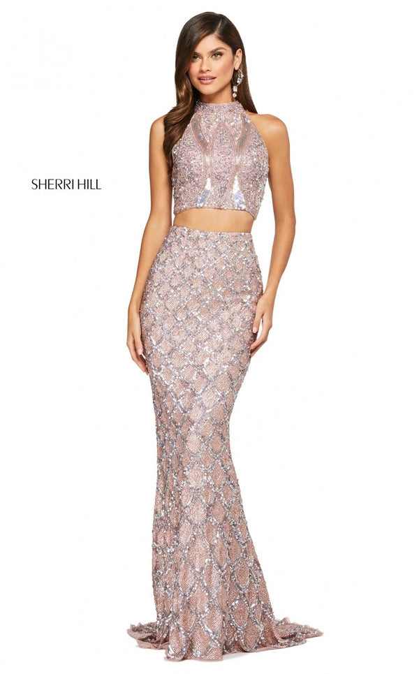 Sherri Hill 53562 Dress Rose-Gold