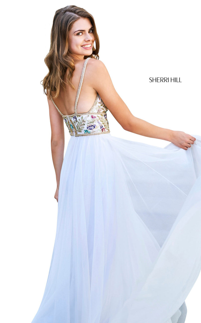 Sherri Hill 53567 Dress Ivory