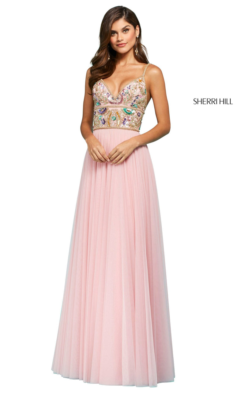 Sherri Hill 53567 Dress Light-Pink