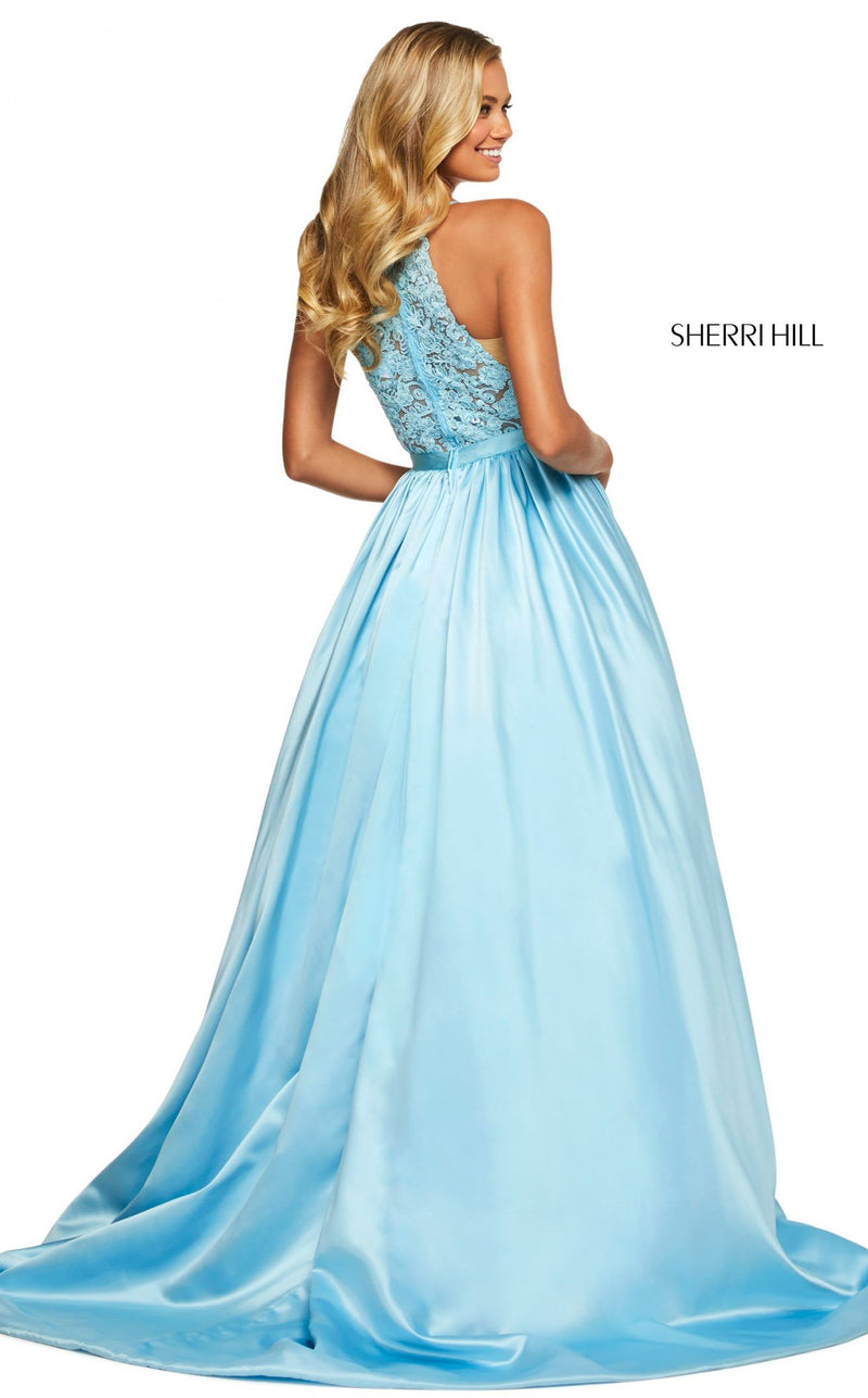 Sherri Hill 53573 Dress Light-Blue