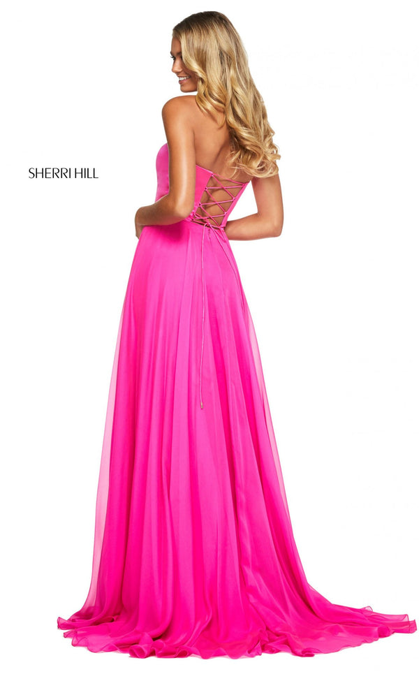 Sherri Hill 53574 Dress Hot-Pink