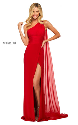 Sherri Hill 53576 Dress Red