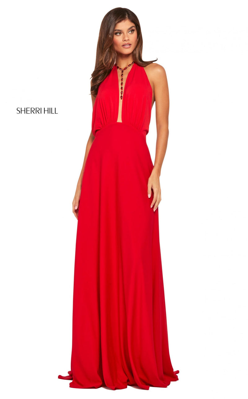 Sherri Hill 53577 Dress Red