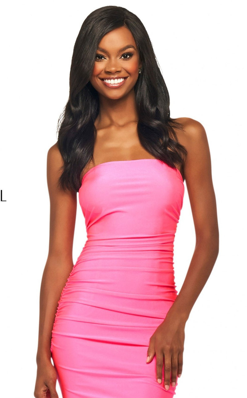 Sherri Hill 53596 Dress Candy-Pink