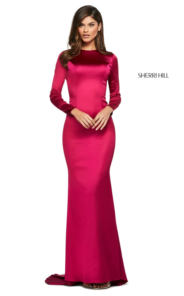 Sherri Hill 53606 Dress Berry