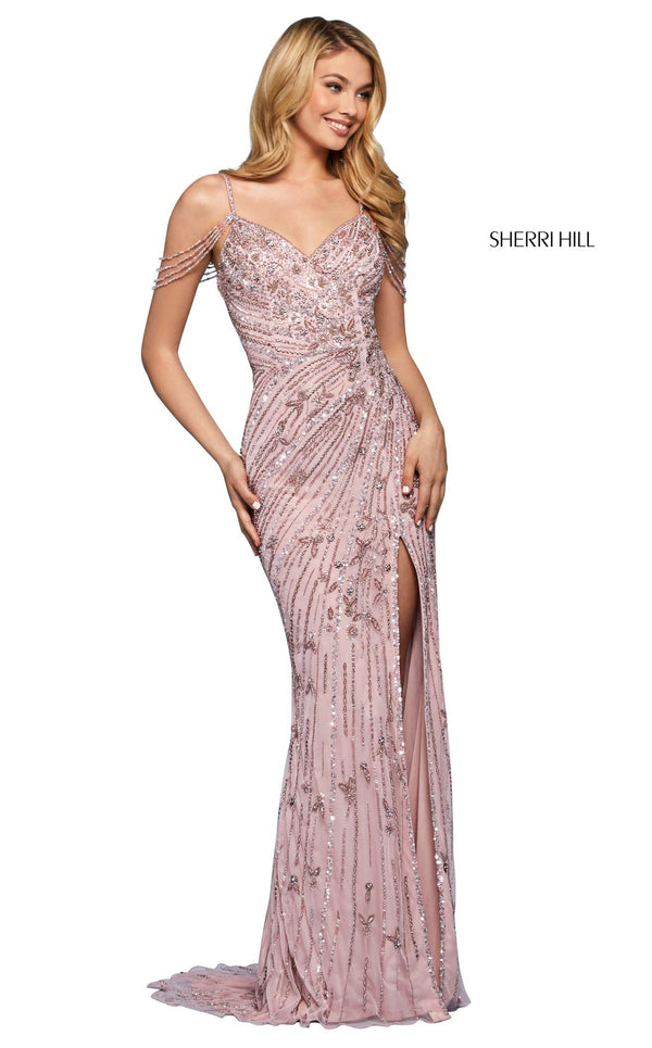 Sherri Hill 53610 Dress Light-Pink