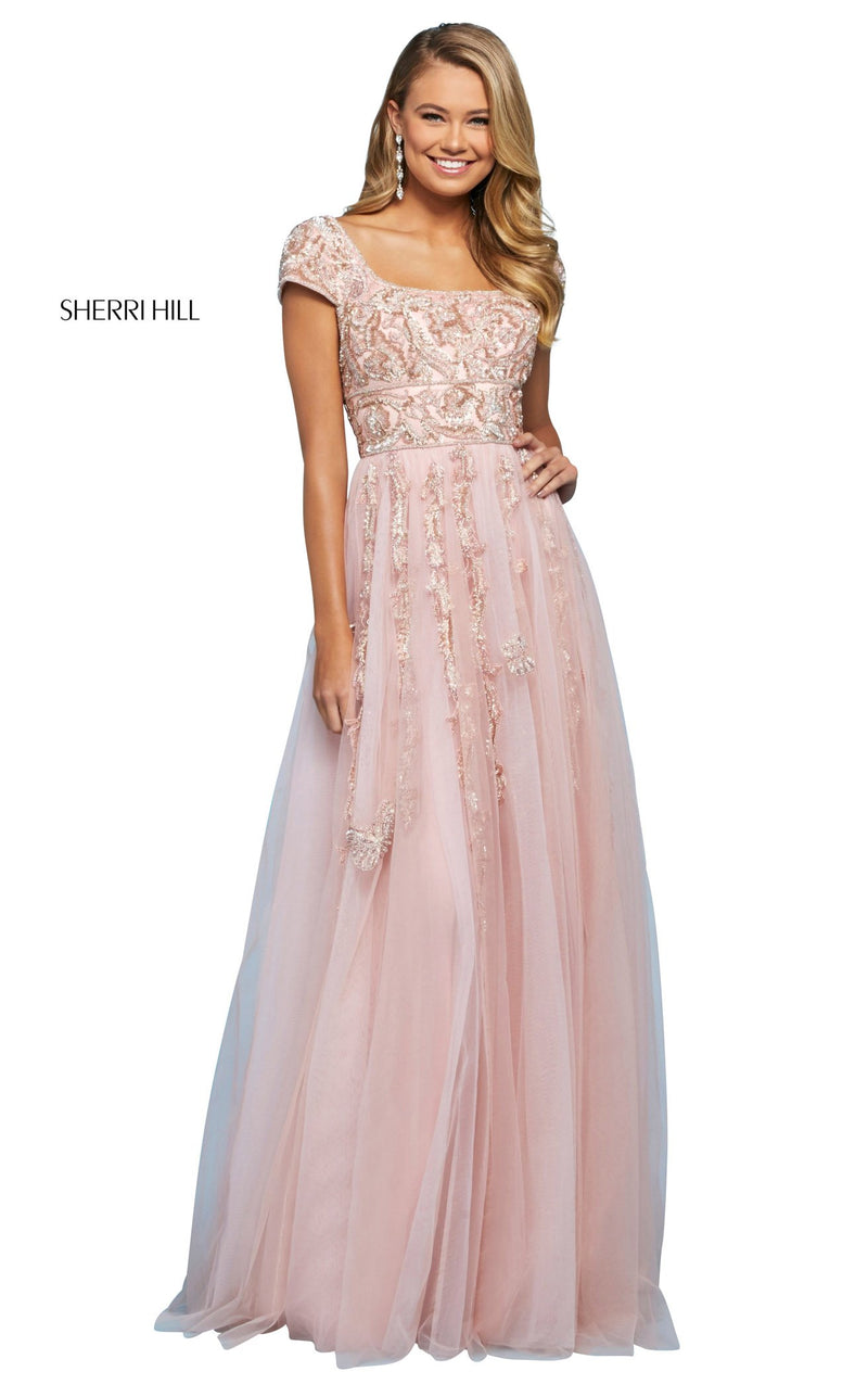 Sherri Hill 53623 Dress Blush