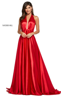 Sherri Hill 53624 Dress Red
